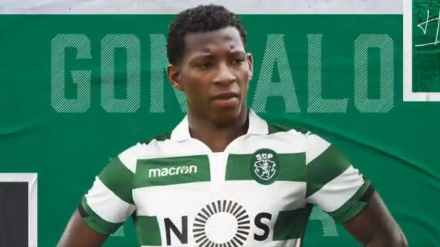 Sporting oficializou a contratação de Gonzalo Plata