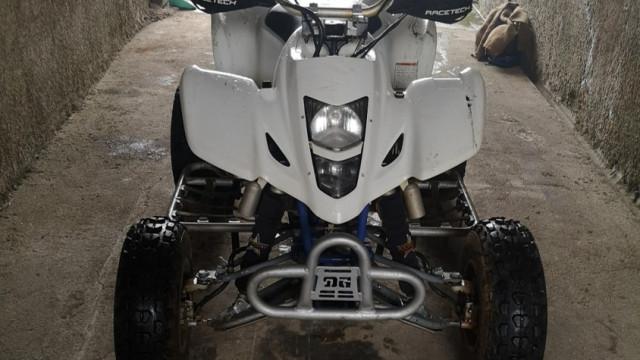Ladrões apanhados por colocarem moto 4 furtada à venda online
