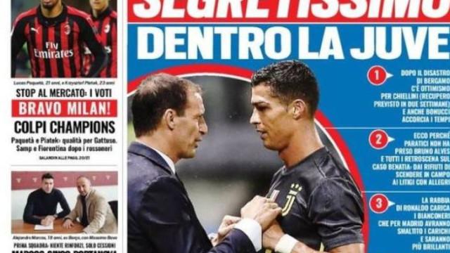 Lá fora: O segredo da Juve, os problemas no Chelsea e Benzema fulcral