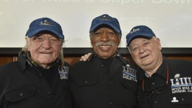 Estes três amigos não perderam um único Super Bowl