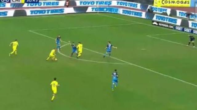 Messi à solta em Itália? Este golo do Chievo parece que foi em Camp Nou