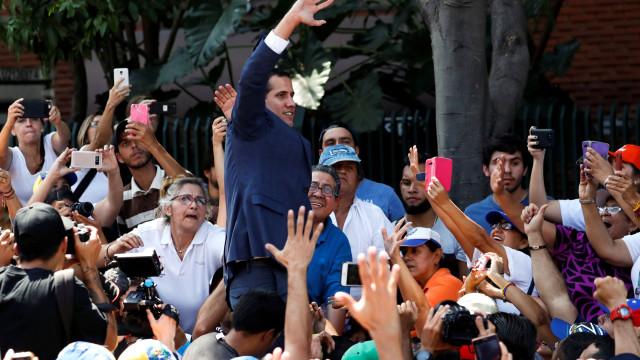 """Guerra civil? """"Não há medo. A Venezuela e o mundo querem que o país mude"""""""