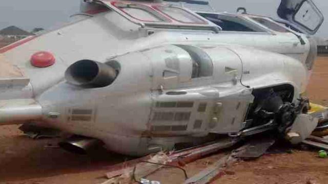 Vice-presidente nigeriano escapa ileso a acidente de helicóptero