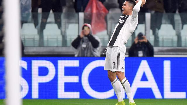 Relatores italianos dão nova alcunha a CR7 após o bis frente ao Parma