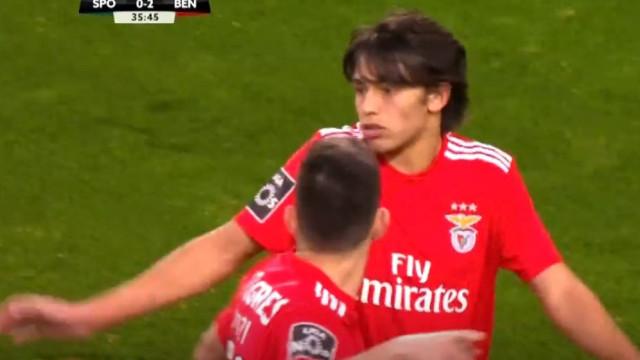 João Félix (agora sim) aumenta a vantagem do Benfica sobre o Sporting