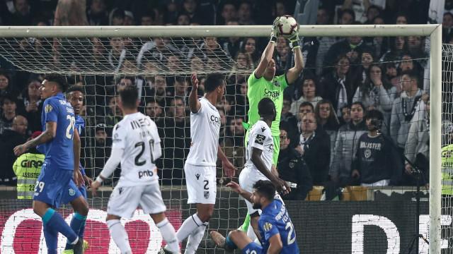 FC Porto enfrentou a verdadeira 'pedra no sapato' desta temporada