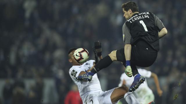 Casillas já reagiu ao tropeção em Guimarães
