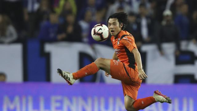 Nakajima despede-se do Portimonense e explica mudança para o Qatar