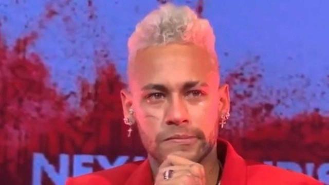 """Neymar em lágrimas no aniversário: """"Queria metatarso novo"""""""