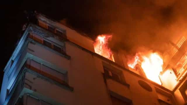 Incêndio: Macron envia condolências e agradece coragem dos bombeiros