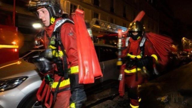 """""""Não há informação de portugueses afetados pelo incêndio"""" em Paris"""