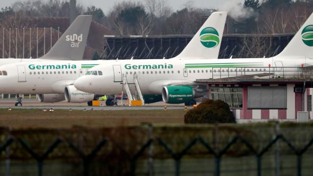 Governo da Madeira quer recuperar voos da Germania Airlines para a região