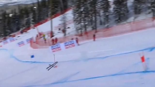 Lindsey Vonn sofre acidente violento na penúltima prova da carreira