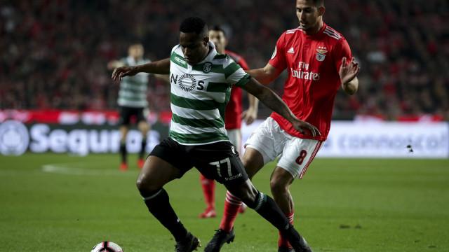 [1-0] Benfica-Sporting: Golo de Gabriel vai dando vantagem às águias