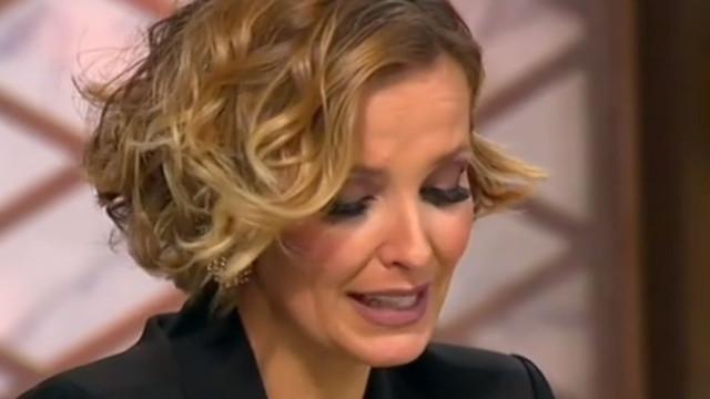 Cristina Ferreira em lágrimas com surpresa do filho