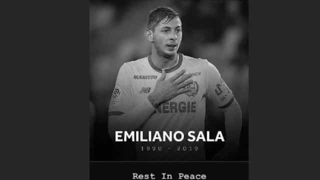 Cristiano Ronaldo já reagiu à morte de Emiliano Sala