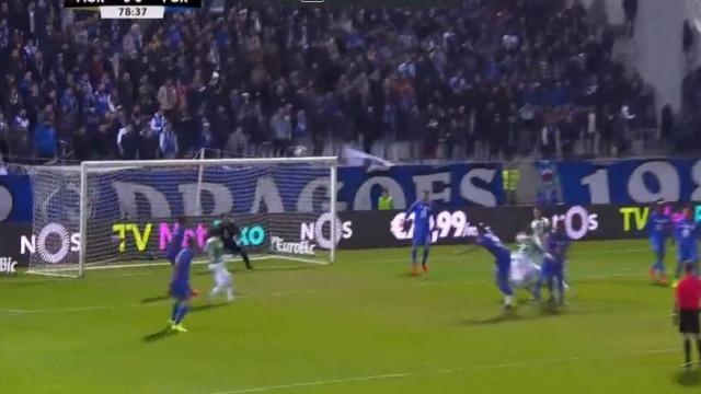 Teixera traiu Casillas e o Moreirense está na frente