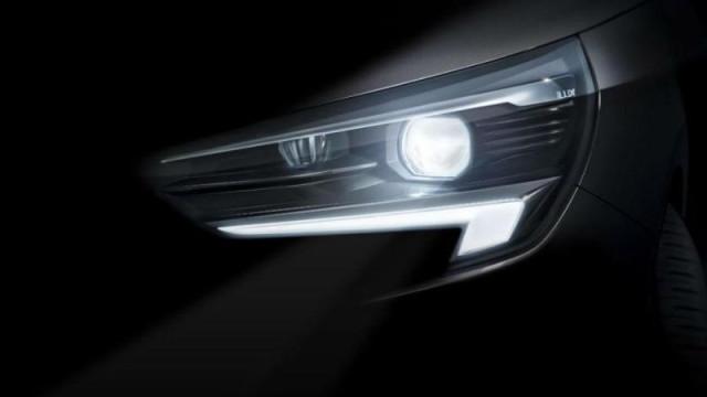 Aí está a primeira imagem do novo Opel Corsa