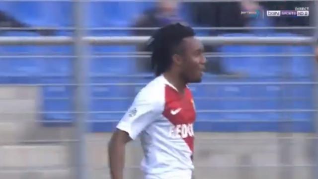 Gelson já marca pelo Monaco (e em grande estilo)