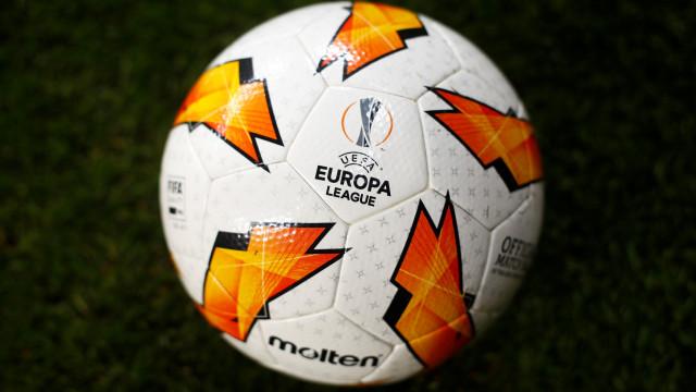 Liga Europa: Todos os resultados e marcadores da 1.ª mão dos '16-avos'