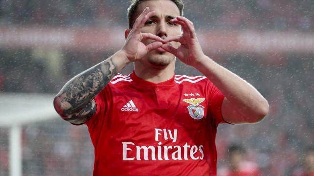 [2-0] Benfica-Nacional: Seferovic dilata o marcador