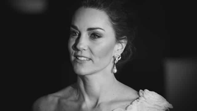 Kate Middleton homenageia princesa Diana nos BAFTA