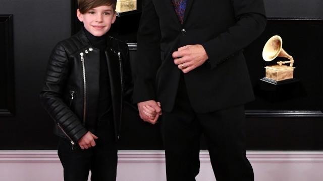 Ricky Martin leva filho aos Grammy e ambos recebem elogios dos fãs