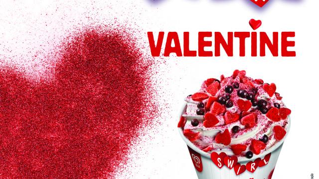 Novo Swirl Valentine: Uma explosão de sabor e textura