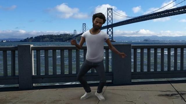 O Pixel dá-lhe oportunidade de dançar com o Childish Gambino