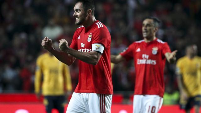 """""""Estou muito feliz por poder inscrever o nome na história do Benfica"""""""