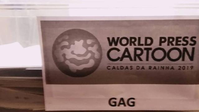 World Press Cartoon com 900 trabalhos a concurso em 2019