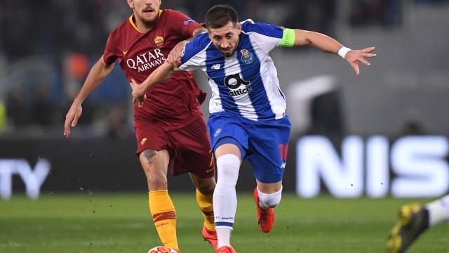 [2-1] AS Roma-FC Porto: Adrián Lopez reduz no marcador