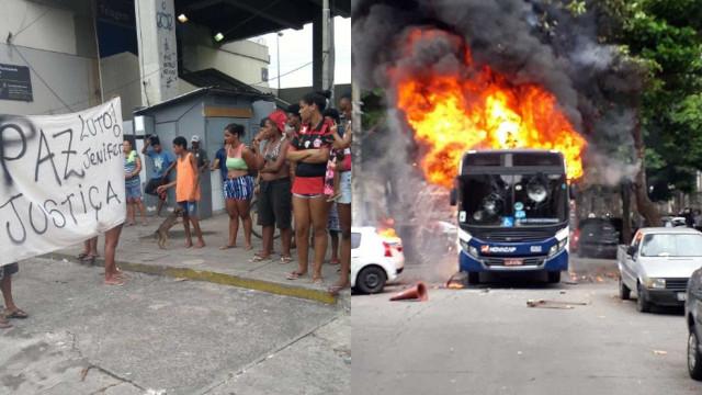Menina de 11 anos morre vítima de bala perdida no Rio e gera protestos