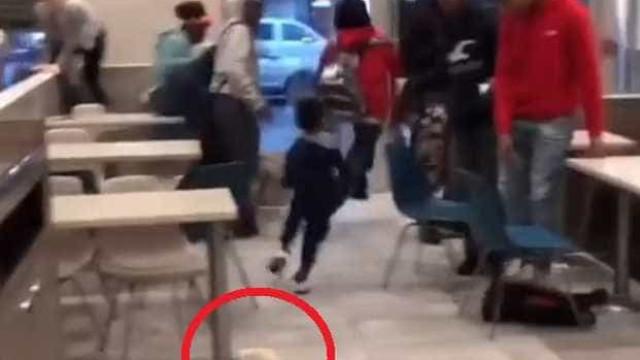 Caos e pânico em McDonald's após cliente soltar ratazana