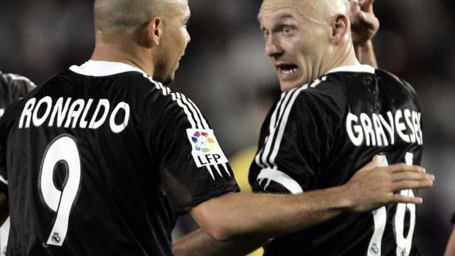 Gravesen abre o livro: Do dente partido a Ronaldo à guerra com Rooney