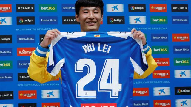 Wu Lei fez 40 milhões de pessoas ver um jogo do Espanyol