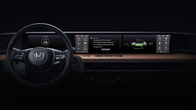 Honda: Eis a 1.ª foto do interior do novo protótipo elétrico
