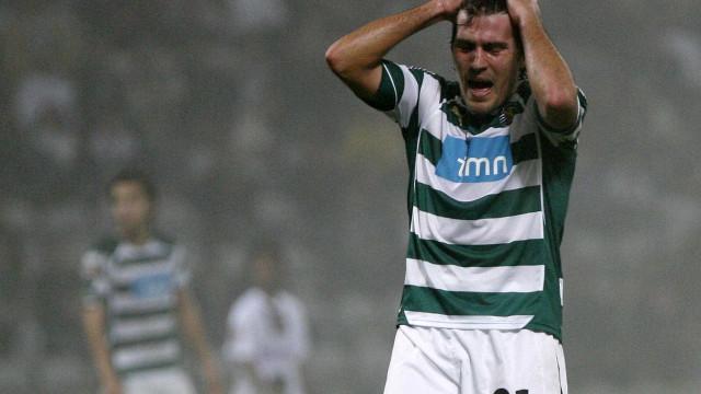 """Antigo jogador do Sporting confessa: """"Pensava que não ia voltar a jogar"""""""