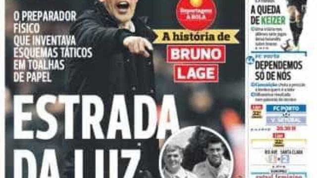 Por cá: Keizer na corda bamba e a história de Bruno Lage