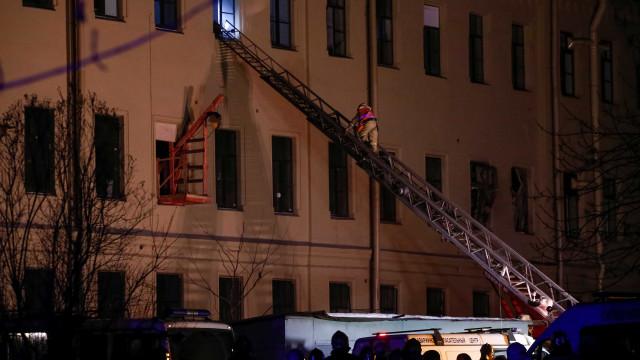Colapso do telhado em universidade de São Petersburgo não causou vítimas
