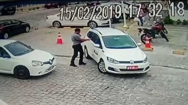 Detido suspeito de matar taxista durante discussão de trânsito