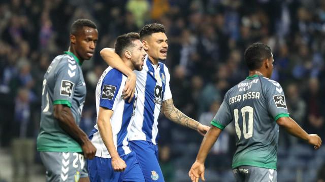 [1-0] FC Porto-V. Setúbal: Sadinos reduzidos a dez unidades