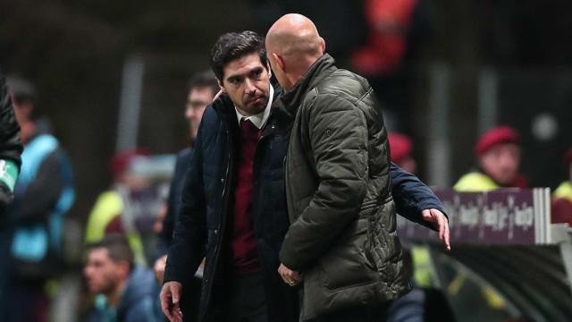 Sporting-Sp. Braga: Siga em direto todas as incidências da partida