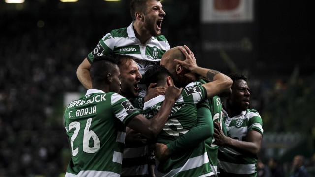 [3-0] Sporting-Sp. Braga: Bas Dost faz o terceiro para os leões