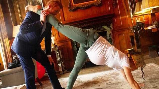 Um dia em casa de Harry e Meghan: Duplos recriam rotina do casal