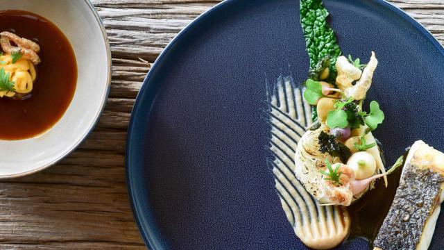 O novo chef da Fortaleza do Guincho, Gil Fernandes, já tem pratos novos