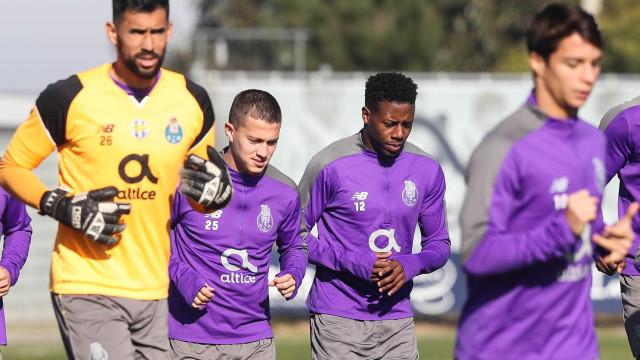 FC Porto inicia 'Operação Tondela' com quatro ausências de peso