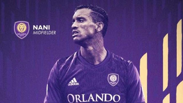 Oficial: Orlando City anuncia contratação de Nani