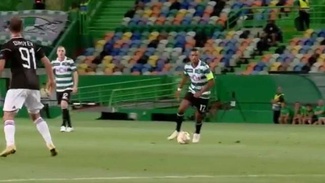 """Sporting deixa mensagem a Nani: """"Alvalade será sempre a tua Casa"""""""