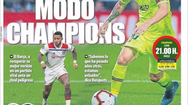 Lá fora: Europa já só tem olhos para a Champions